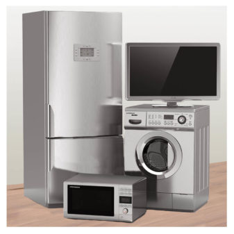 delivery of appliances and electronics